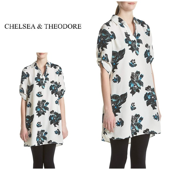 Chelsea & Theodore Dresses & Skirts - NWT Chelsea & Theodore Floral Shirt Dress